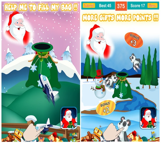 Christmas - Paper Toss iPhone Game Source code