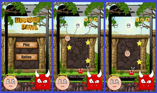 Hungry Devil iPhone Game Source Code